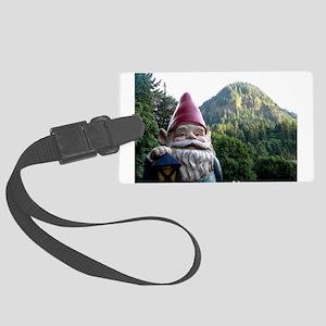 Mountain Gnome Large Luggage Tag