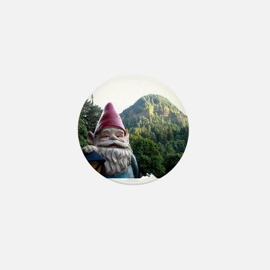 Mountain Gnome Mini Button