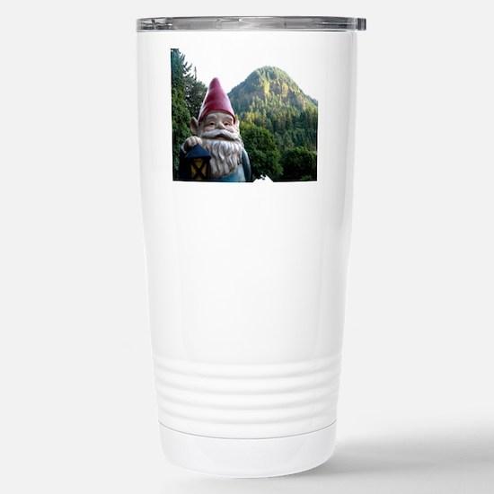 Mountain Gnome Stainless Steel Travel Mug
