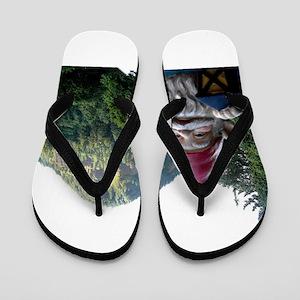 Mountain Gnome Flip Flops