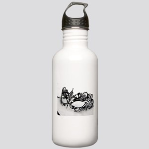 Queens Mask Stainless Water Bottle 1.0L