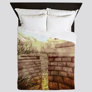 Labyrinth Queen Duvet