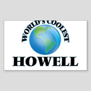 World's Coolest Howell Sticker