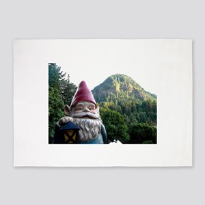 Mountain Gnome 5'x7'Area Rug
