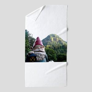 Mountain Gnome Beach Towel