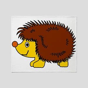 Porcupine Throw Blanket