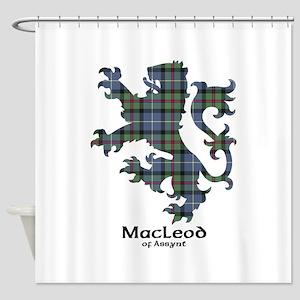 Lion-MacLeodAssynt Shower Curtain