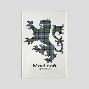 Lion-MacLeodAssynt Rectangle Magnet