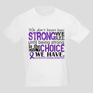 Alzheimer's HowStrongWeAre Kids Light T-Shirt