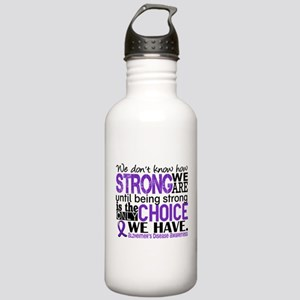 Alzheimer's HowStrongW Stainless Water Bottle 1.0L