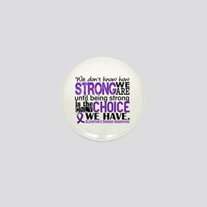 Alzheimer's HowStrongWeAre Mini Button