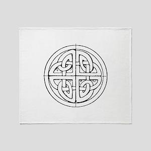 Celtic symbol Throw Blanket