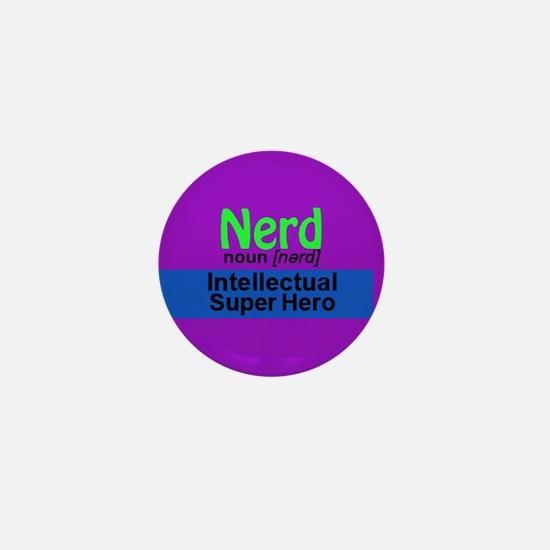 Nerd: Intellectual Super Mini Button (10 Pack)