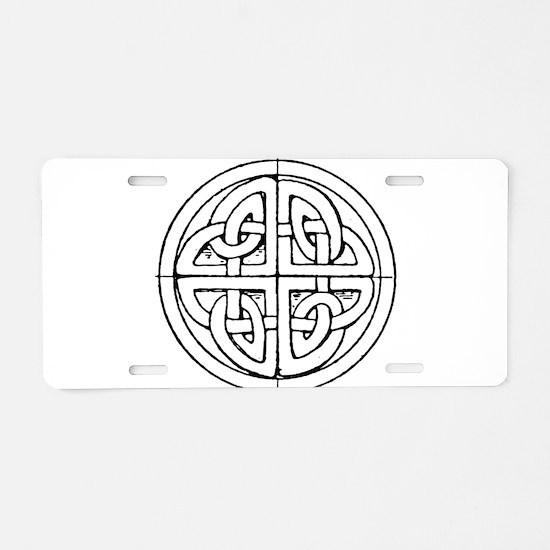 Celtic symbol Aluminum License Plate