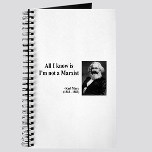 Karl Marx Quote 10 Journal