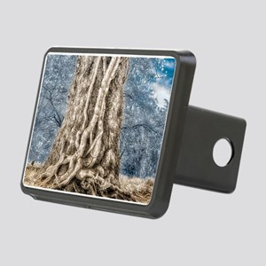 Infrared: Tree with Vines Rectangular Hitch Cover