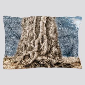 Infrared: Tree with Vines Pillow Case
