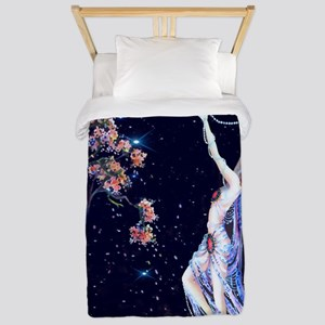 Tsanya Starlight Dancer, Art Deco Twin Duvet Cover