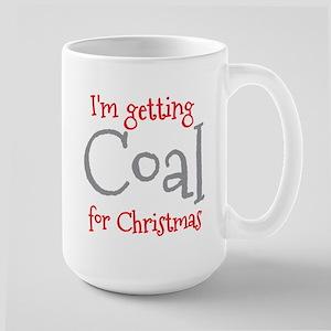 I'm getting COAL for Christmas Mugs