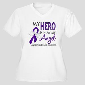 Alzheimers Hero N Women's Plus Size V-Neck T-Shirt