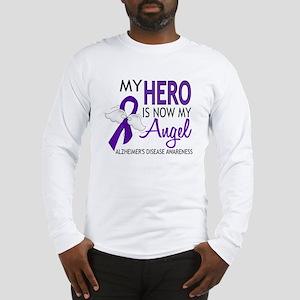 Alzheimers Hero Now My Angel Long Sleeve T-Shirt