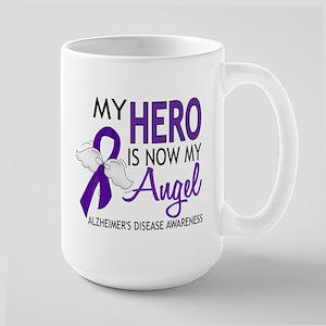 Alzheimers Hero Now My Angel Large Mug