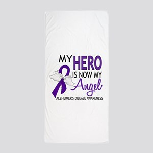 Alzheimers Hero Now My Angel Beach Towel
