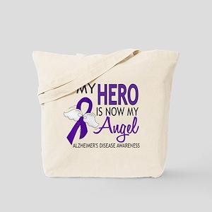 Alzheimers Hero Now My Angel Tote Bag