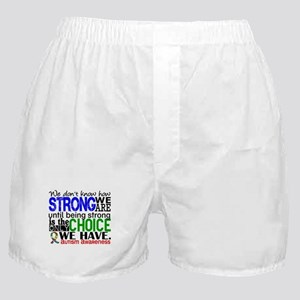 Autism How Strong We Are Boxer Shorts