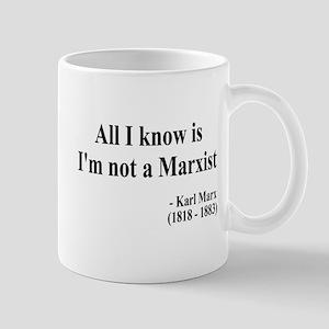 Karl Marx Text 10 Mug