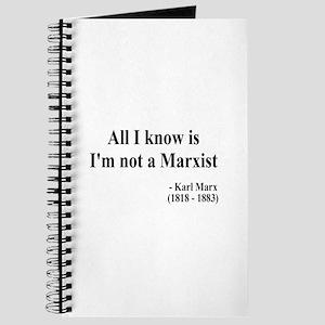 Karl Marx Text 10 Journal