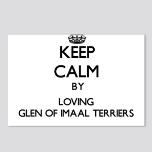 Keep calm by loving Glen Postcards (Package of 8)