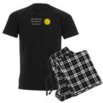 Christmas Sunshine Men's Dark Pajamas
