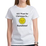 Christmas Sunshine Women's T-Shirt