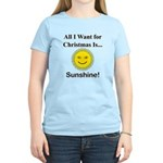 Christmas Sunshine Women's Light T-Shirt