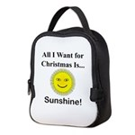 Christmas Sunshine Neoprene Lunch Bag
