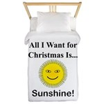 Christmas Sunshine Twin Duvet