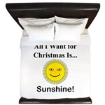 Christmas Sunshine King Duvet