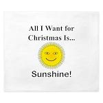 Christmas Sunshine King Duvet