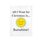 Christmas Sunshine 5'x7'Area Rug
