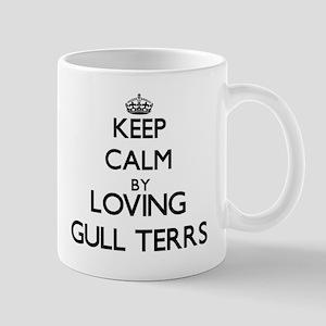 Keep calm by loving Gull Terrs Mugs