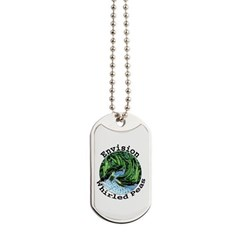Envision Whirled Peas Dog Tags
