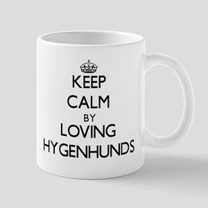 Keep calm by loving Hygenhunds Mugs