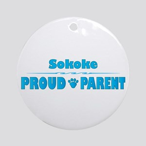 Sokoke Parent Ornament (Round)