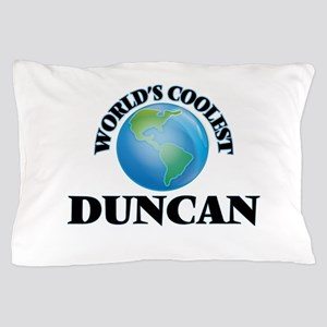 World's Coolest Duncan Pillow Case