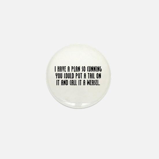 Cunning Mini Button