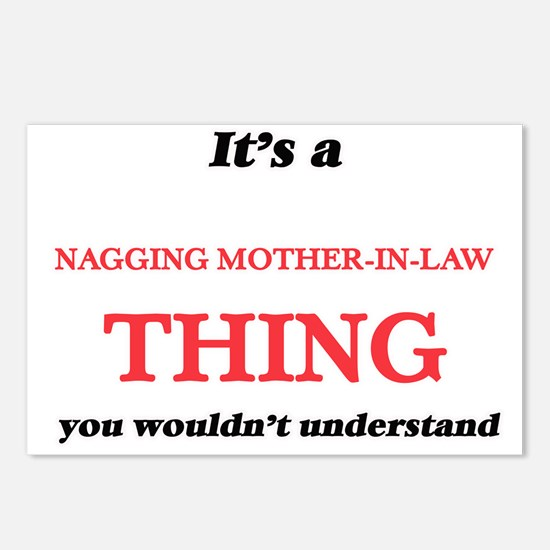 It's a Nagging Mother Postcards (Package of 8)
