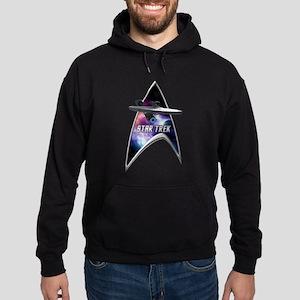 StarTrek Command Silver Signia Enterprise 2 Hoodie