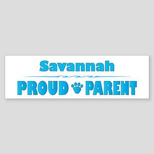 Savannah Parent Bumper Sticker