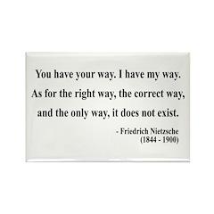 Nietzsche 1 Rectangle Magnet (10 pack)